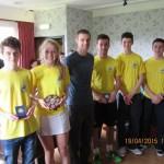 JIR15 - East U19 Winners