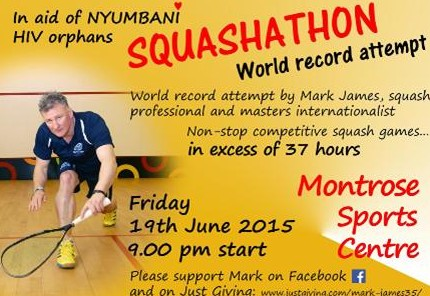 Mark James - Squashathon 2
