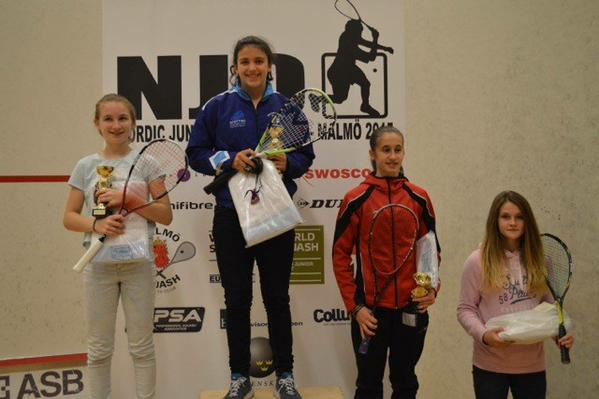 Georgia Adderley - Nordic Open 15 U15 Winner