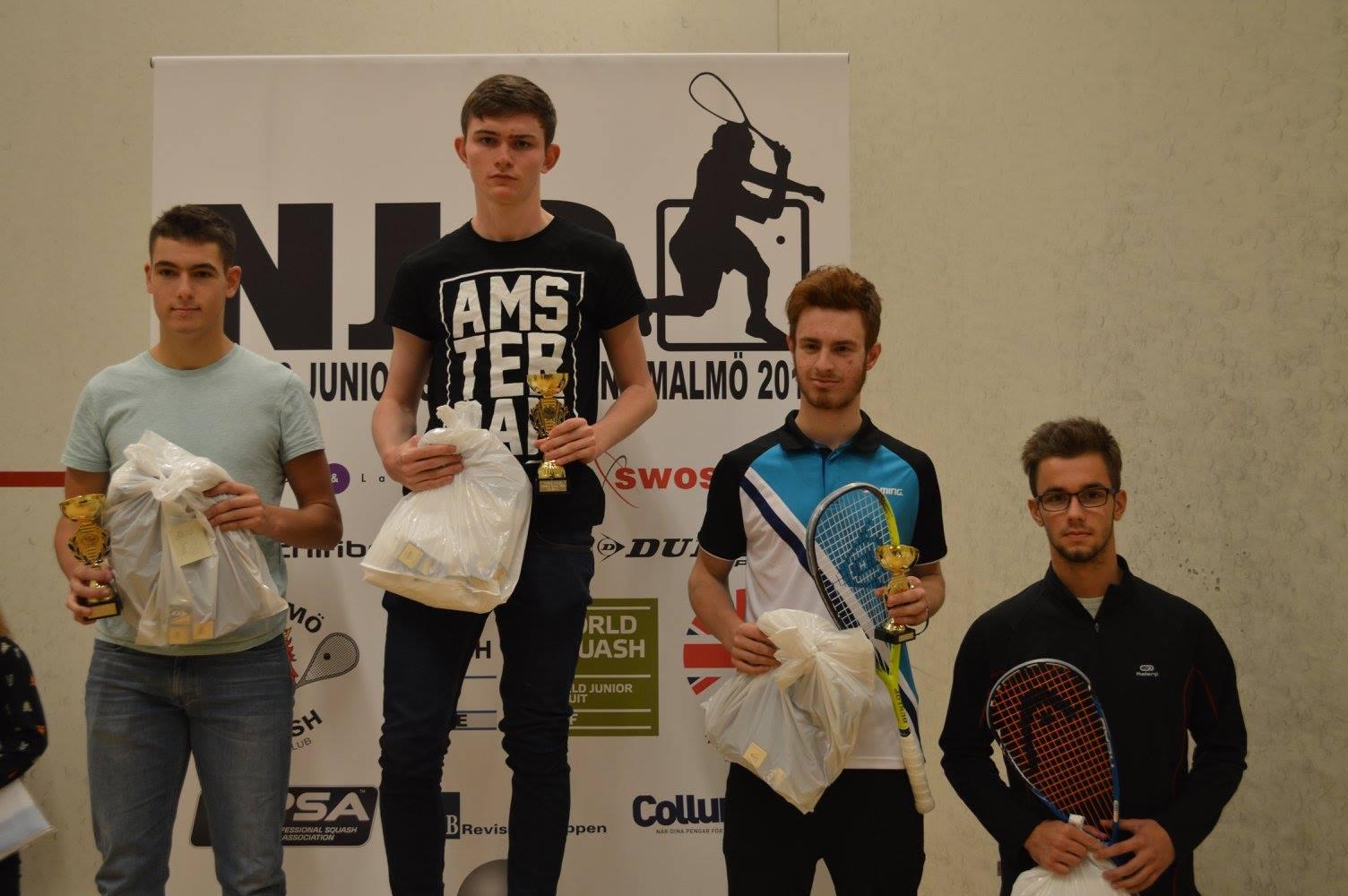 Patrick O'Sullivan - Nordic Open 15 U17 Winner