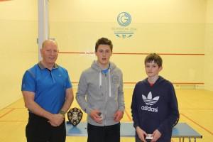 Boys Winner Div 2 - O'Sullivan & Paul