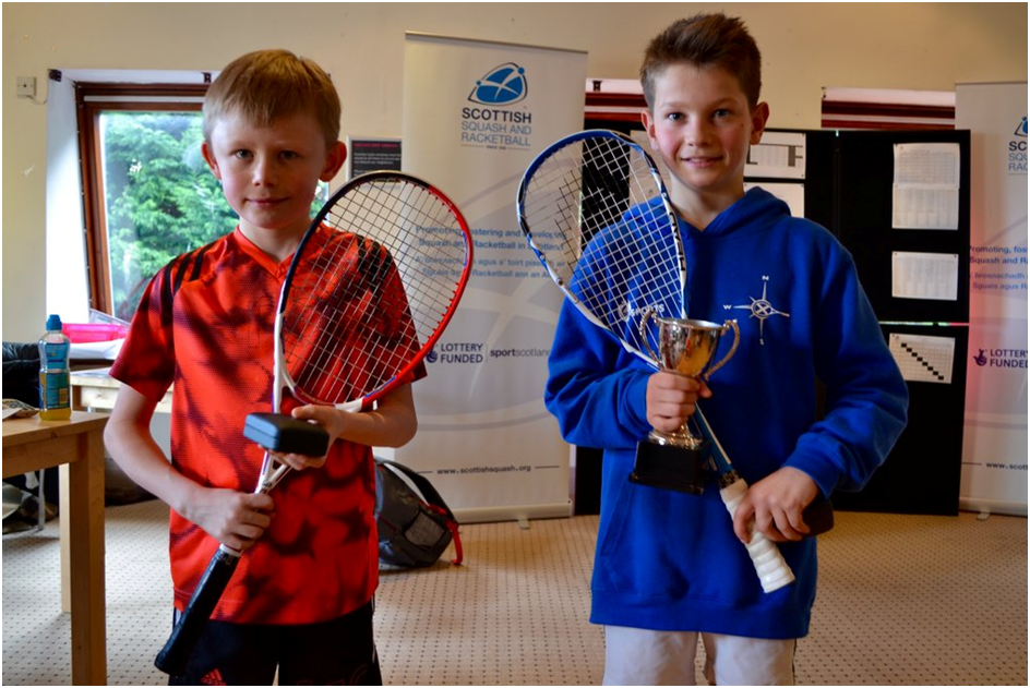 Junior Nats 16- BU11 Winner Rory Shaw (R) and Jamie Cargill