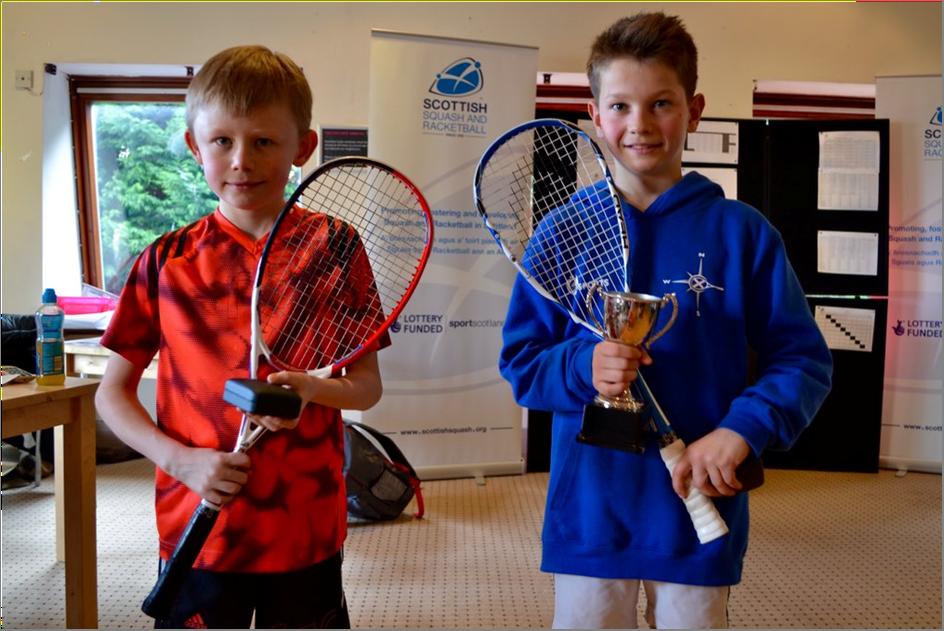 Junior Nats 16- BU11 Winner Rory Shaw (R) and Jamie Cargill