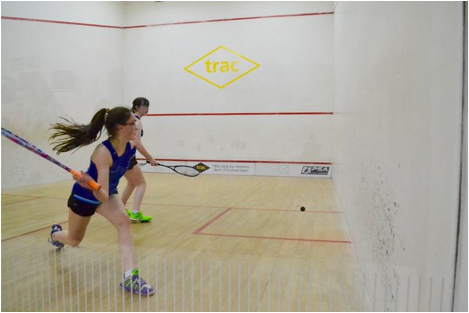 Junior Nats 16-GU15 Winner Orla Young & Katie Gregson-MacLeod