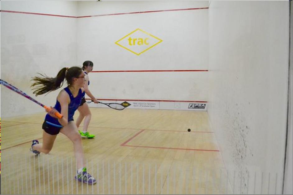 Junior Nats 16-GU15 Winner Orla Young & Katie Gregson-MacLeod