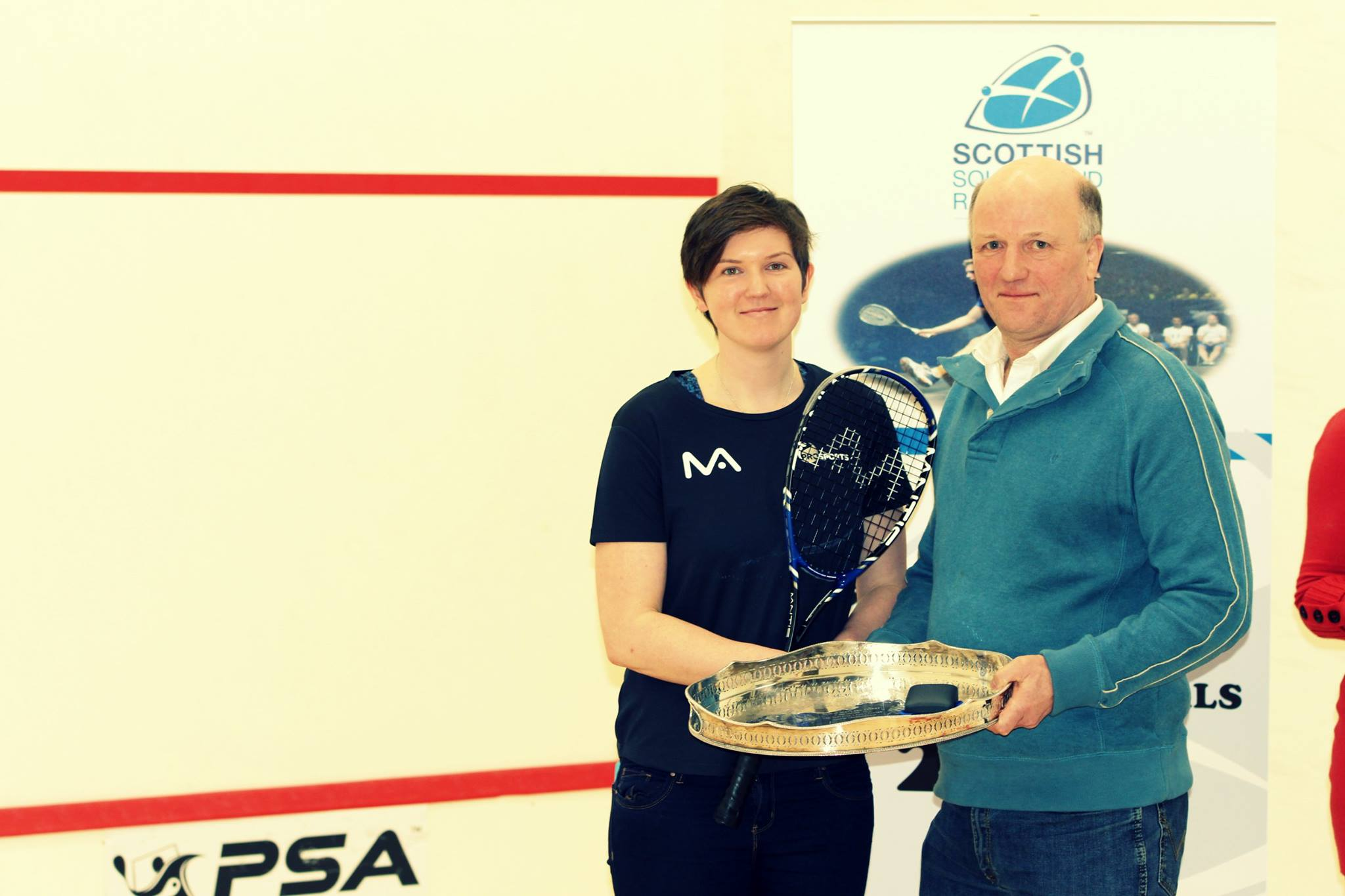 Sterling Trucks Scottish Nationals 16 - Winners Presentation Ladies Winner 1
