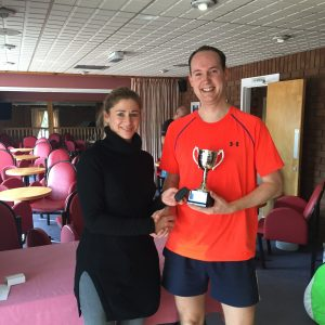 Richard MacBride Mens Open Winner
